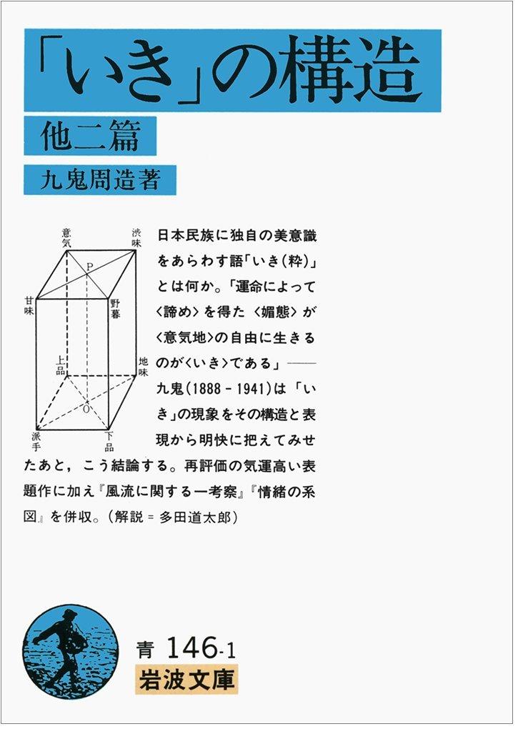 九鬼周造(1979)『「いき」の構造』岩波文庫