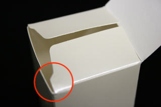 紙 箱 フラップ