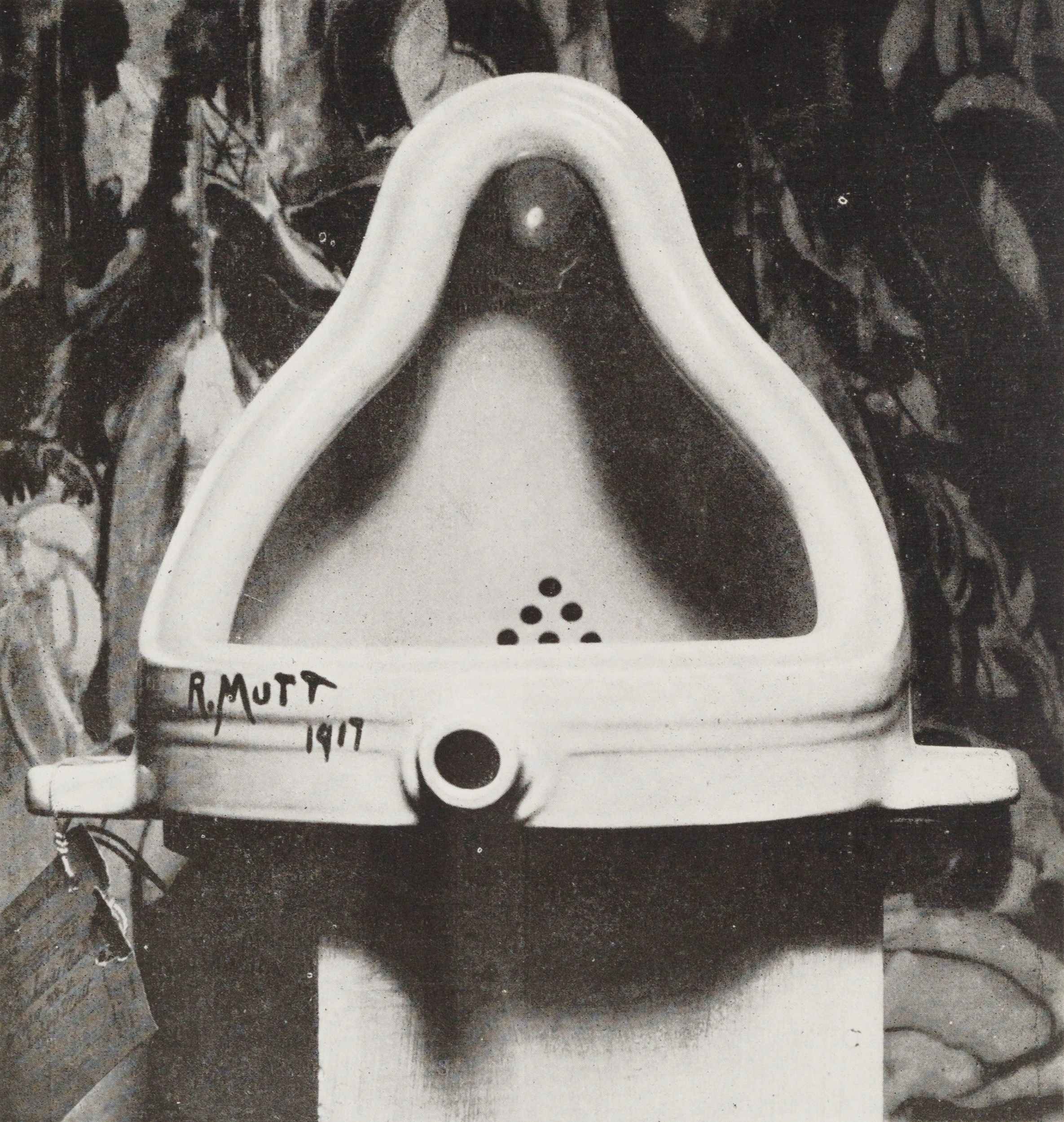 デュシャン 泉