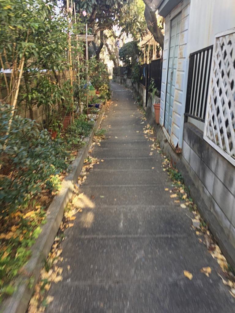 桃園川緑道 暗渠