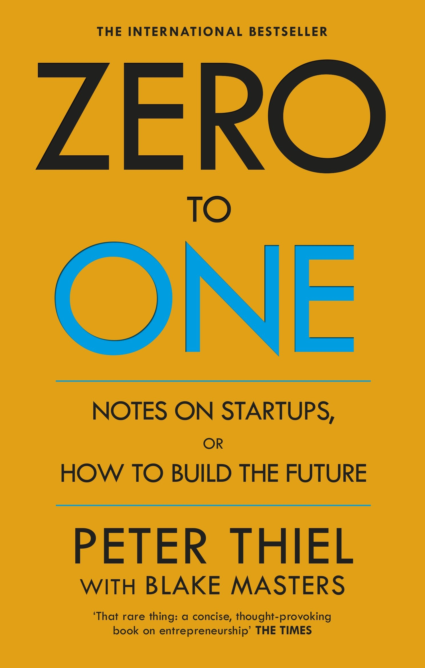 Peter Thiel(2015)『Zero to One』Virgin Books