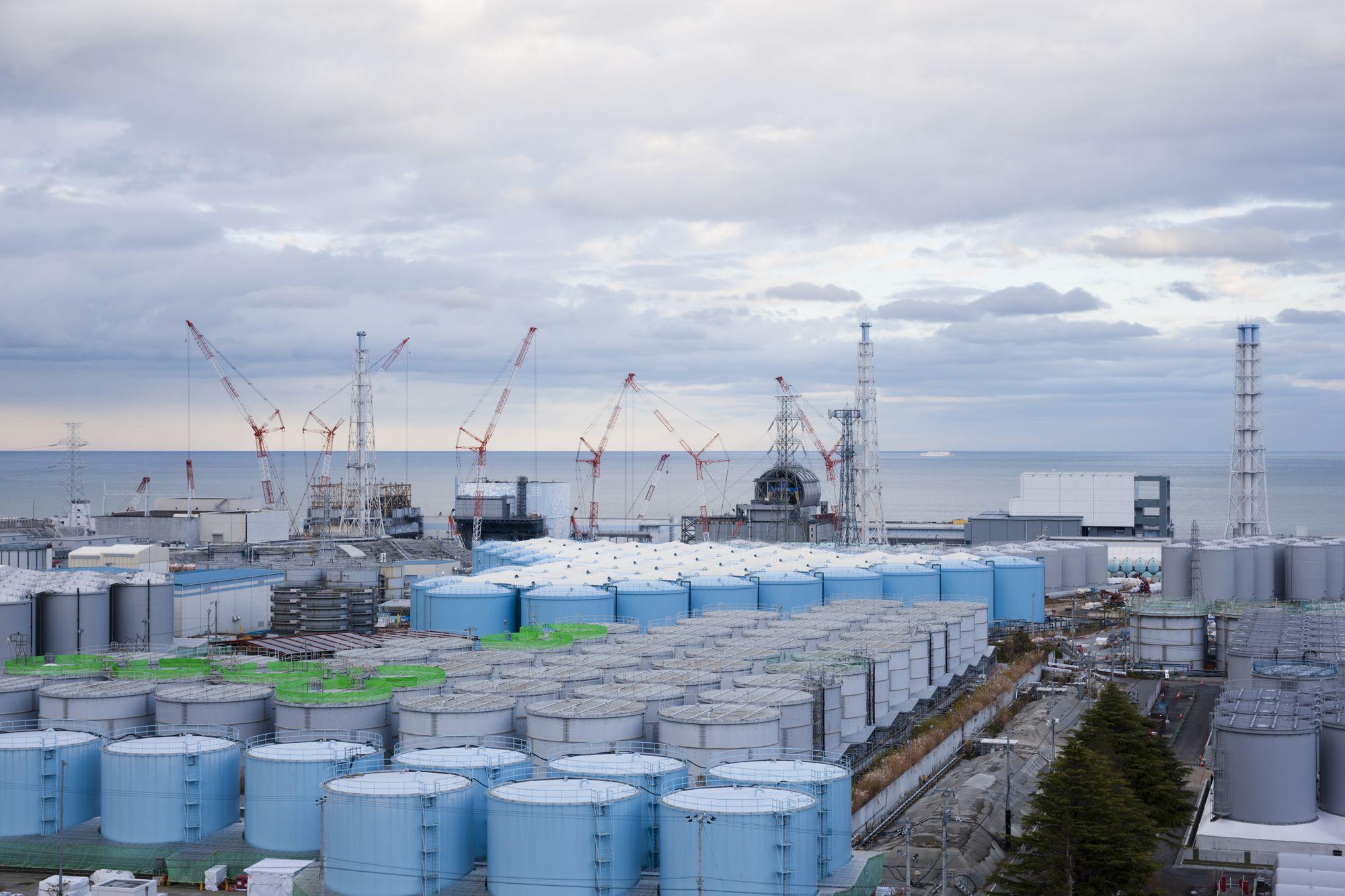 福島第一原子力発電所 汚染水 タンク