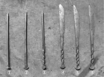 五寸釘 ナイフ