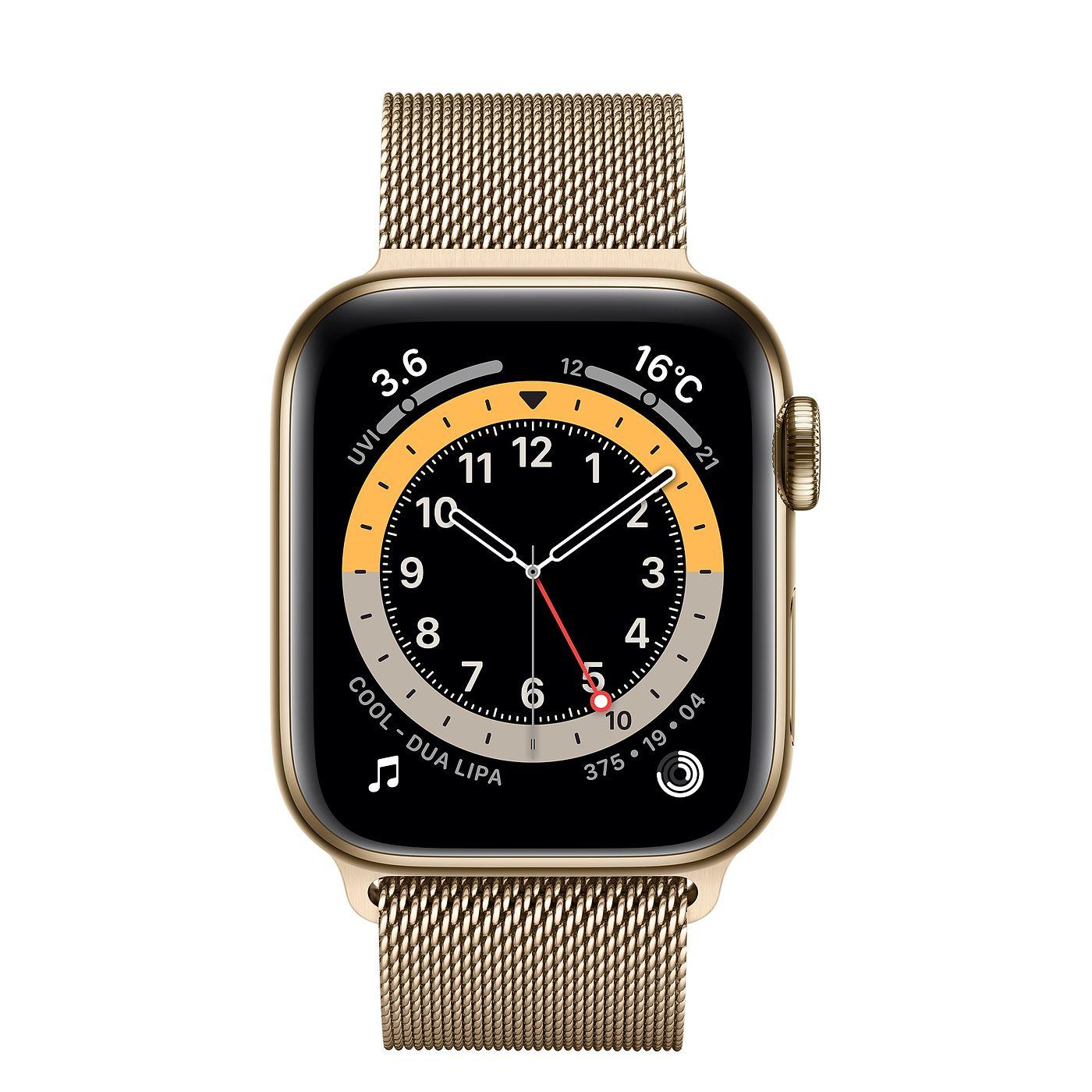 Apple Watch ステンレス ゴールド ミラネーゼループ