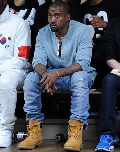 Kanye West ティンバーランド
