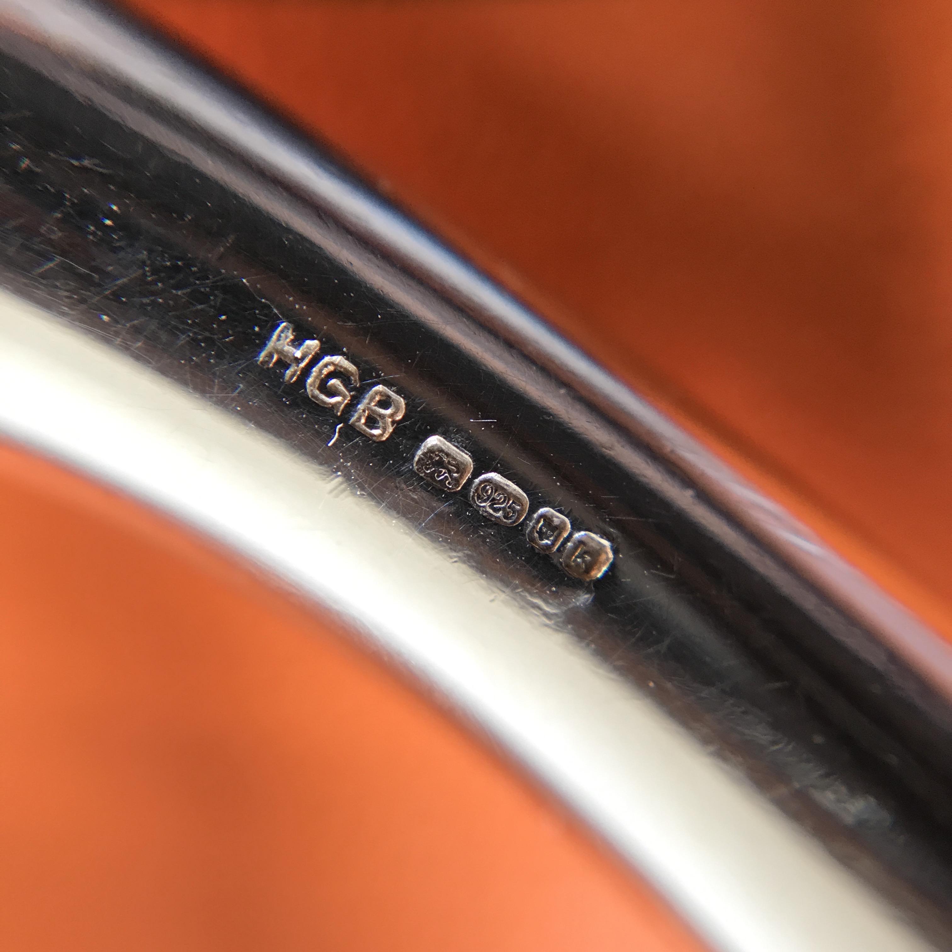 エルメス イギリス製 ホールマーク