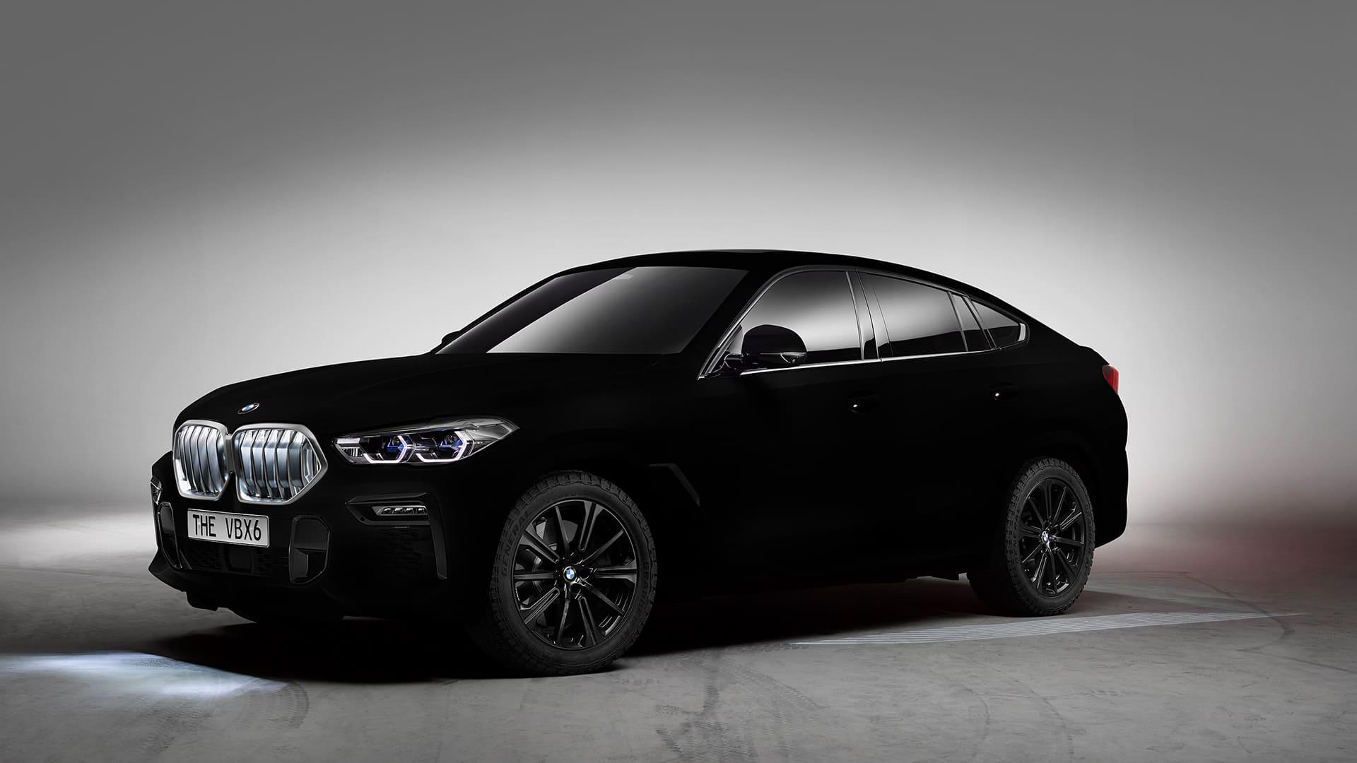 ベンタブラック BMW