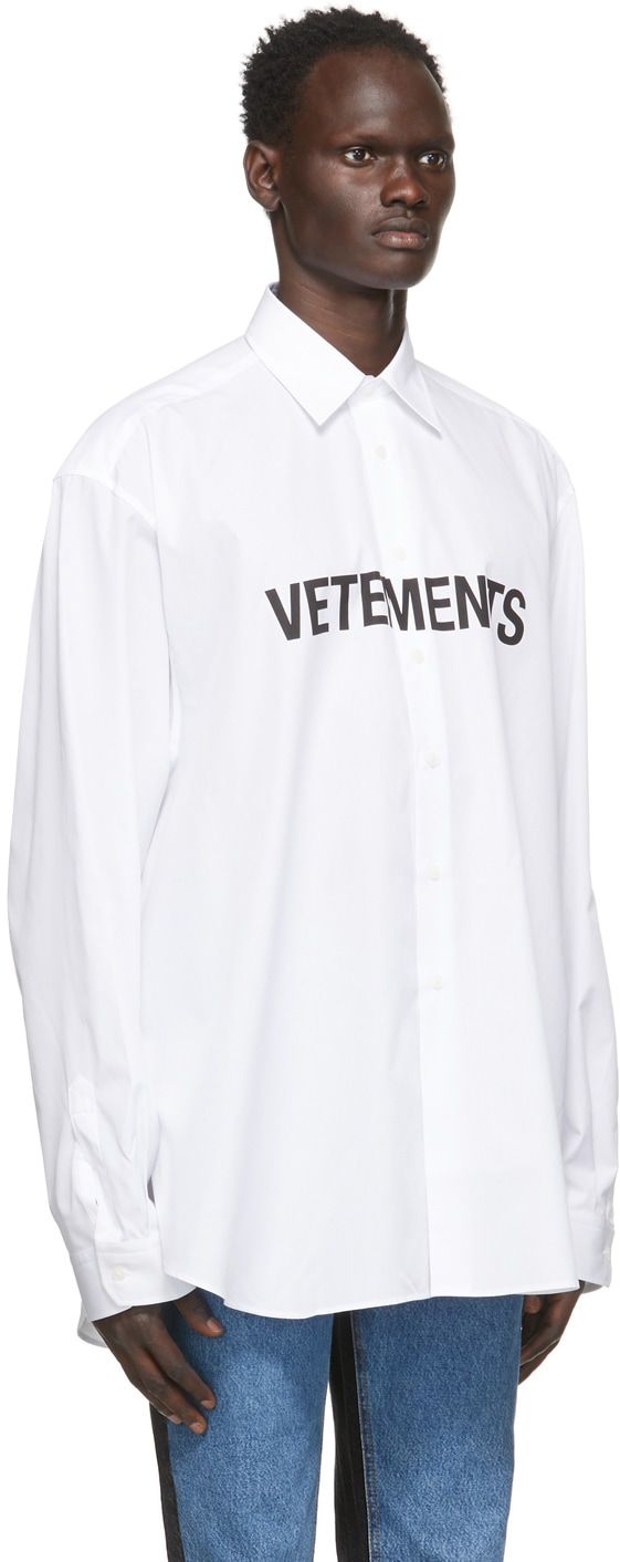 vetements シャツ