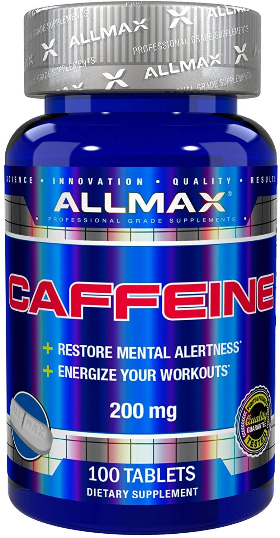 ALLMAX カフェイン 錠剤