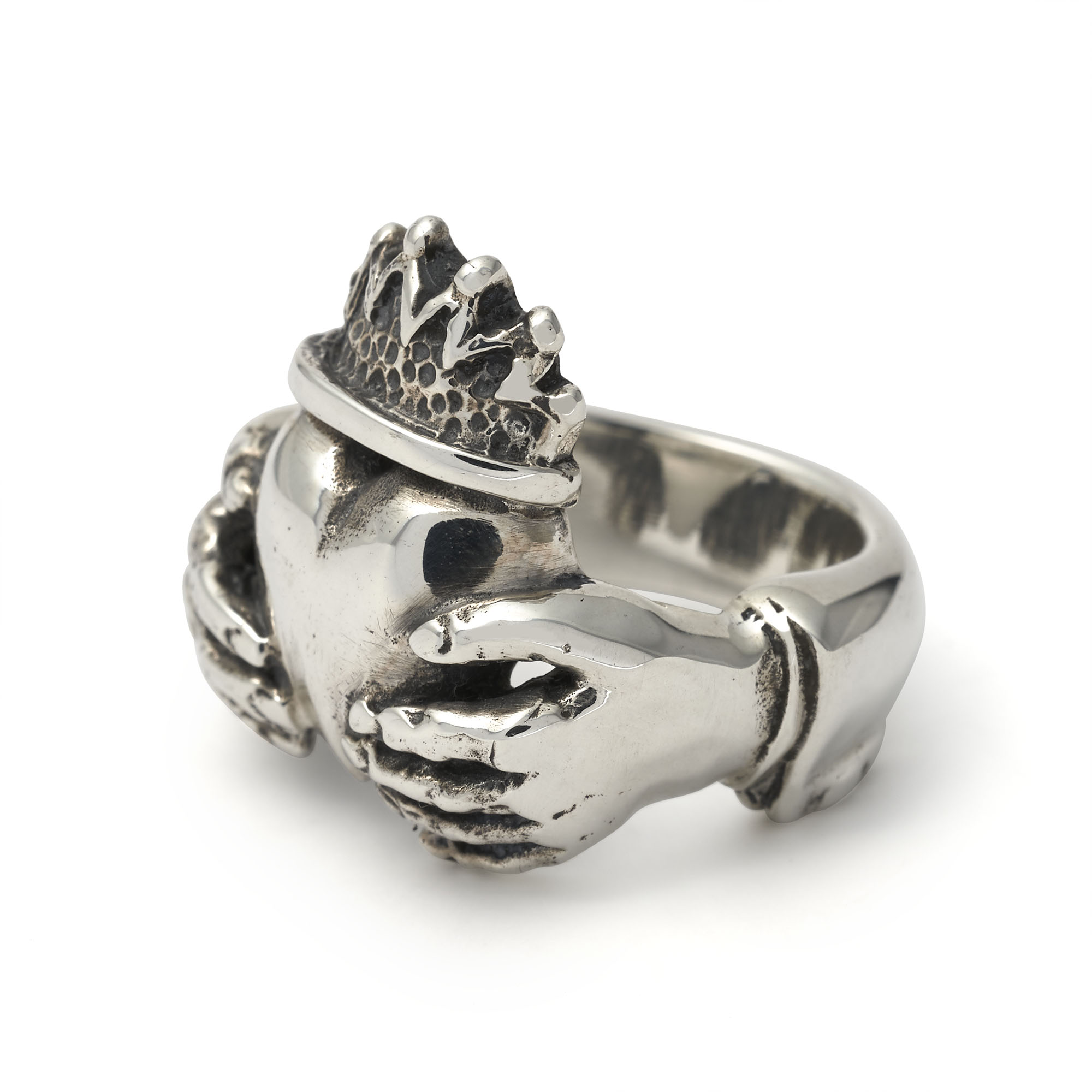 THE GREAT FROG Claddagh Ring